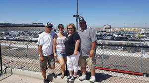Michael attended Camping World 500 - Monster Energy NASCAR Cup Series - Phoenix International Raceway on Mar 19th 2017 via VetTix