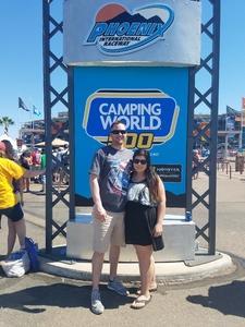 Joshua attended Camping World 500 - Monster Energy NASCAR Cup Series - Phoenix International Raceway on Mar 19th 2017 via VetTix