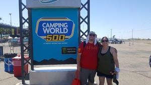Brent attended Camping World 500 - Monster Energy NASCAR Cup Series - Phoenix International Raceway on Mar 19th 2017 via VetTix