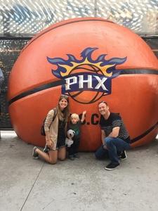John attended Phoenix Suns vs. Boston Celtics - NBA on Mar 5th 2017 via VetTix