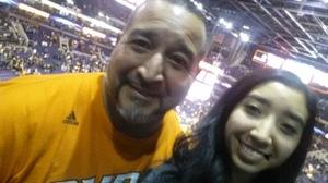 Richard attended Phoenix Suns vs. Boston Celtics - NBA on Mar 5th 2017 via VetTix