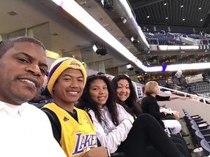 keith attended Phoenix Suns vs. Los Angeles Lakers - NBA on Mar 9th 2017 via VetTix