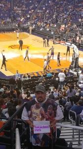 Ralph attended Phoenix Suns vs. Los Angeles Lakers - NBA on Mar 9th 2017 via VetTix