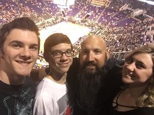 Jeremy E. attended Phoenix Suns vs. Los Angeles Lakers - NBA on Mar 9th 2017 via VetTix