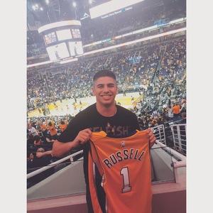 James attended Phoenix Suns vs. Los Angeles Lakers - NBA on Mar 9th 2017 via VetTix