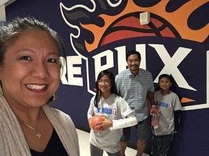 Dennis attended Phoenix Suns vs. Los Angeles Lakers - NBA on Mar 9th 2017 via VetTix