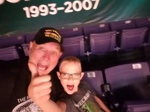 James attended Phoenix Suns vs. Sacramento Kings - NBA on Mar 15th 2017 via VetTix