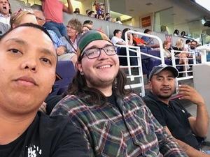 Jake attended Phoenix Suns vs. Sacramento Kings - NBA on Mar 15th 2017 via VetTix