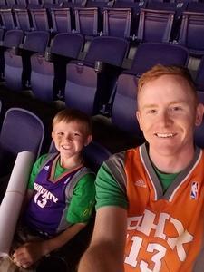 Deryck attended Phoenix Suns vs. Orlando Magic - NBA on Mar 17th 2017 via VetTix