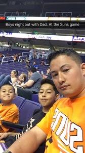 Jeremy attended Phoenix Suns vs. Orlando Magic - NBA on Mar 17th 2017 via VetTix