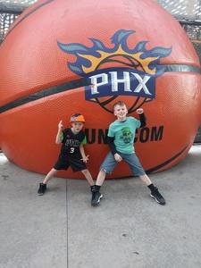 Patrick attended Phoenix Suns vs. Orlando Magic - NBA on Mar 17th 2017 via VetTix