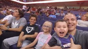 matt attended Phoenix Suns vs. Orlando Magic - NBA on Mar 17th 2017 via VetTix