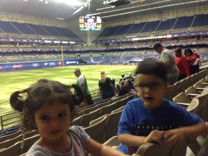 Ronald attended HEB Big League Weekend - American League West Division Champion Texas Rangers vs. American League Central Division Champion Cleveland Indians - MLB on Mar 17th 2017 via VetTix
