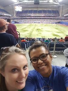 Leslie attended HEB Big League Weekend - American League West Division Champion Texas Rangers vs. American League Central Division Champion Cleveland Indians - MLB on Mar 17th 2017 via VetTix
