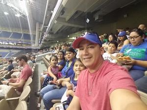 Rodrigo attended HEB Big League Weekend - American League West Division Champion Texas Rangers vs. American League Central Division Champion Cleveland Indians - MLB on Mar 17th 2017 via VetTix
