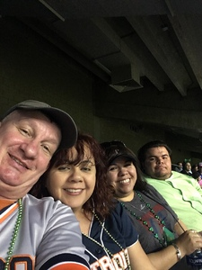 wayne attended HEB Big League Weekend - American League West Division Champion Texas Rangers vs. American League Central Division Champion Cleveland Indians - MLB on Mar 17th 2017 via VetTix