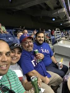 Daniel attended HEB Big League Weekend - American League West Division Champion Texas Rangers vs. American League Central Division Champion Cleveland Indians - MLB on Mar 17th 2017 via VetTix