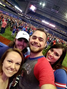 Robert attended HEB Big League Weekend - American League West Division Champion Texas Rangers vs. American League Central Division Champion Cleveland Indians - MLB on Mar 17th 2017 via VetTix
