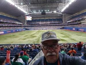 John attended HEB Big League Weekend - American League West Division Champion Texas Rangers vs. American League Central Division Champion Cleveland Indians - MLB on Mar 17th 2017 via VetTix