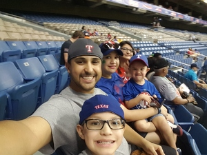 Roman attended HEB Big League Weekend - American League West Division Champion Texas Rangers vs. American League Central Division Champion Cleveland Indians - MLB on Mar 17th 2017 via VetTix