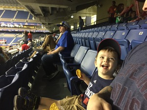 Adrian attended HEB Big League Weekend - American League West Division Champion Texas Rangers vs. American League Central Division Champion Cleveland Indians - MLB on Mar 17th 2017 via VetTix