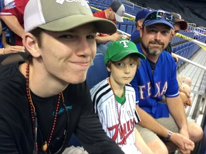 Eric attended HEB Big League Weekend - American League West Division Champion Texas Rangers vs. American League Central Division Champion Cleveland Indians - MLB on Mar 17th 2017 via VetTix