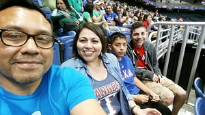 Ruben attended HEB Big League Weekend - American League West Division Champion Texas Rangers vs. American League Central Division Champion Cleveland Indians - MLB on Mar 17th 2017 via VetTix