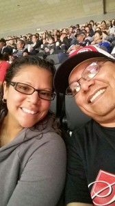 Martin attended HEB Big League Weekend - American League West Division Champion Texas Rangers vs. American League Central Division Champion Cleveland Indians - MLB on Mar 17th 2017 via VetTix