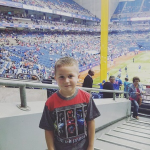 Crystal attended HEB Big League Weekend - American League West Division Champion Texas Rangers vs. American League Central Division Champion Cleveland Indians - MLB on Mar 18th 2017 via VetTix
