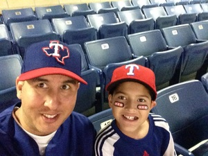 Randy attended HEB Big League Weekend - American League West Division Champion Texas Rangers vs. American League Central Division Champion Cleveland Indians - MLB on Mar 18th 2017 via VetTix
