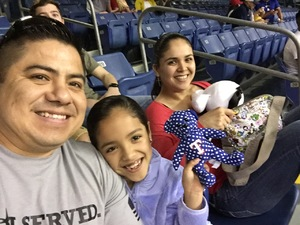 Uriel attended HEB Big League Weekend - American League West Division Champion Texas Rangers vs. American League Central Division Champion Cleveland Indians - MLB on Mar 18th 2017 via VetTix