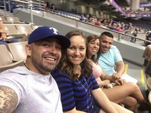John attended HEB Big League Weekend - American League West Division Champion Texas Rangers vs. American League Central Division Champion Cleveland Indians - MLB on Mar 18th 2017 via VetTix