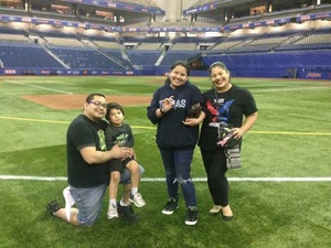 Noel attended HEB Big League Weekend - American League West Division Champion Texas Rangers vs. American League Central Division Champion Cleveland Indians - MLB on Mar 18th 2017 via VetTix