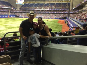 joe attended HEB Big League Weekend - American League West Division Champion Texas Rangers vs. American League Central Division Champion Cleveland Indians - MLB on Mar 18th 2017 via VetTix