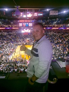 Johnny attended Phoenix Suns vs. Oklahoma City Thunder - NBA on Mar 3rd 2017 via VetTix