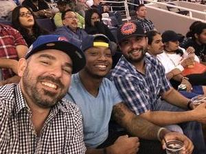 kevin attended Phoenix Suns vs. Oklahoma City Thunder - NBA on Mar 3rd 2017 via VetTix