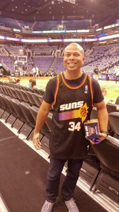 William attended Phoenix Suns vs. Oklahoma City Thunder - NBA on Mar 3rd 2017 via VetTix
