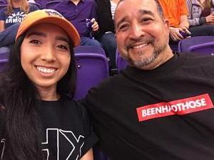 Richard attended Phoenix Suns vs. Oklahoma City Thunder - NBA on Mar 3rd 2017 via VetTix