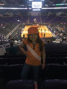 Armando attended Phoenix Suns vs. Oklahoma City Thunder - NBA on Mar 3rd 2017 via VetTix
