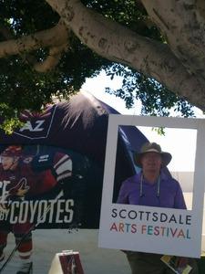 Toby attended Scottsdale Arts Festival - Saturday on Mar 11th 2017 via VetTix