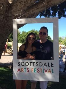 Timothy attended Scottsdale Arts Festival - Saturday on Mar 11th 2017 via VetTix