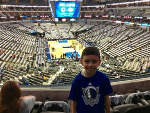 Kevin attended Dallas Mavericks vs. Los Angeles Lakers - NBA on Mar 7th 2017 via VetTix