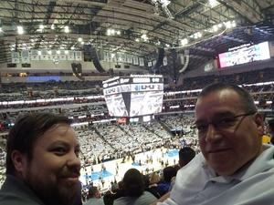 James attended Dallas Mavericks vs. Los Angeles Lakers - NBA on Mar 7th 2017 via VetTix
