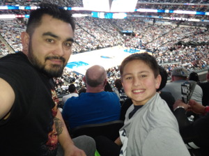 Sean attended Dallas Mavericks vs. Los Angeles Lakers - NBA on Mar 7th 2017 via VetTix
