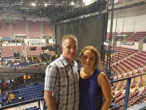 Jim attended Tim McGraw and Faith Hill - Soul2Soul World Tour - North Charleston Coliseum on Apr 20th 2017 via VetTix