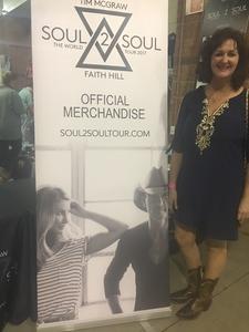 Joel attended Tim McGraw and Faith Hill - Soul2Soul World Tour - North Charleston Coliseum on Apr 20th 2017 via VetTix