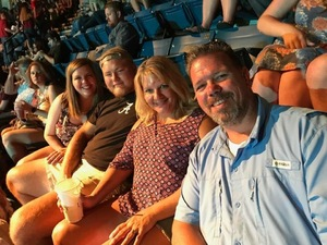 Kimberly attended Tim McGraw and Faith Hill - Soul2Soul World Tour - Legacy Arena on Apr 21st 2017 via VetTix
