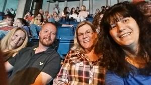 Yvonne attended Tim McGraw and Faith Hill - Soul2Soul World Tour - Legacy Arena on Apr 21st 2017 via VetTix