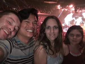 Sheena attended Tim McGraw and Faith Hill - Soul2Soul World Tour - Legacy Arena on Apr 21st 2017 via VetTix