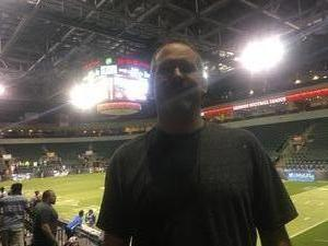 Jerry attended Austin Acoustic vs. Seattle Mist - Legends Football League - Women of the Gridiron on Apr 14th 2017 via VetTix